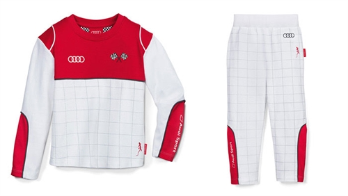 Racing pyjamas, Audi Sport str- 86/92