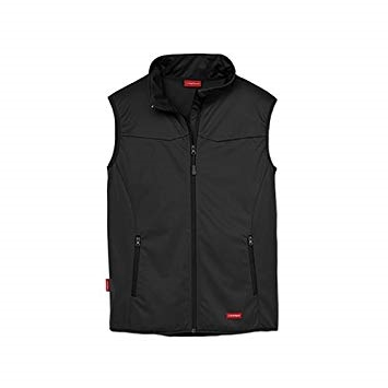 Herre Soft Shell Vest Sort Str. L