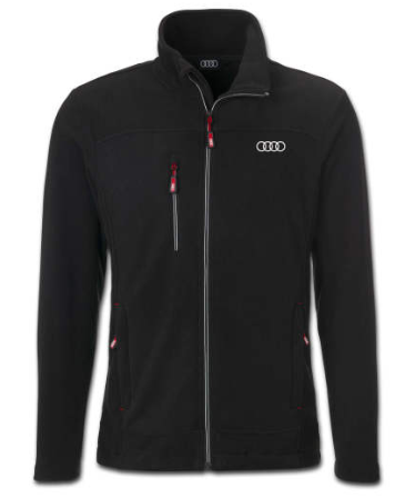 Audi Fleece jakke Sort