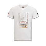 Audi Heritage herre t-shirt - Offwhite