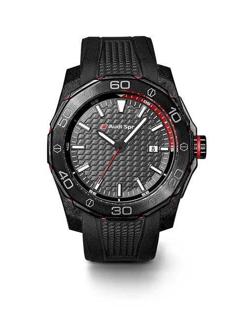 Audi Sport ur i sort